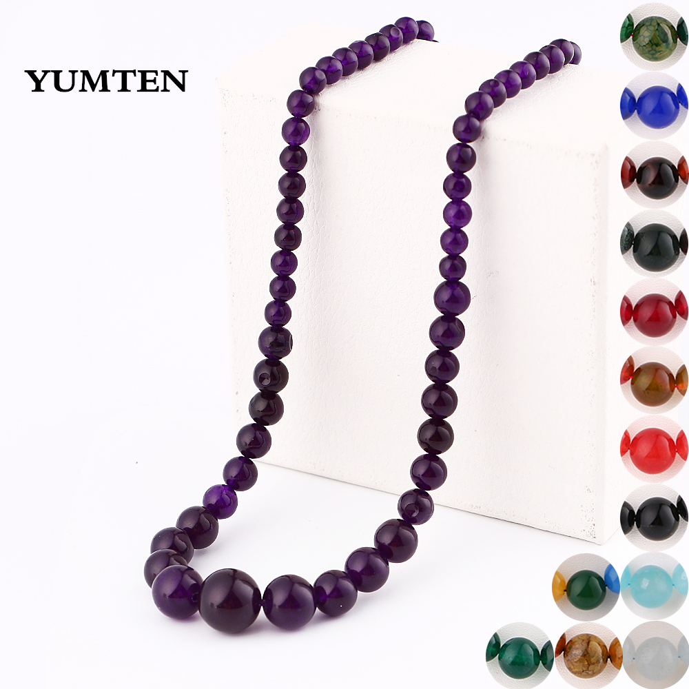 Genuine AAA Quality Gold Flower Amber Necklace Pendants Crystal Gemstone Round Beads