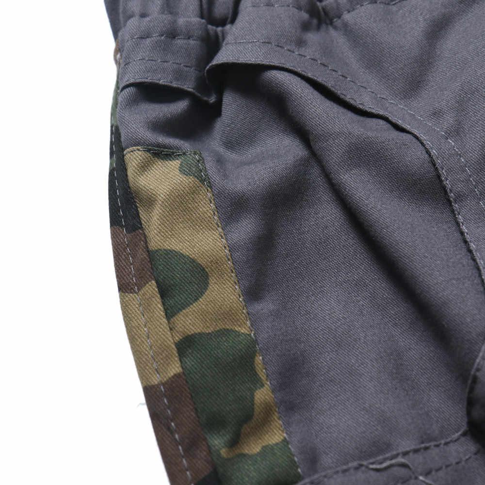 Harem spodnie męskie spodnie Casual średnio wysoka talia spodnie do fitnessu elastyczne kamuflaż męskie proste spodnie dresowe męskie spodnie do kostek c0427