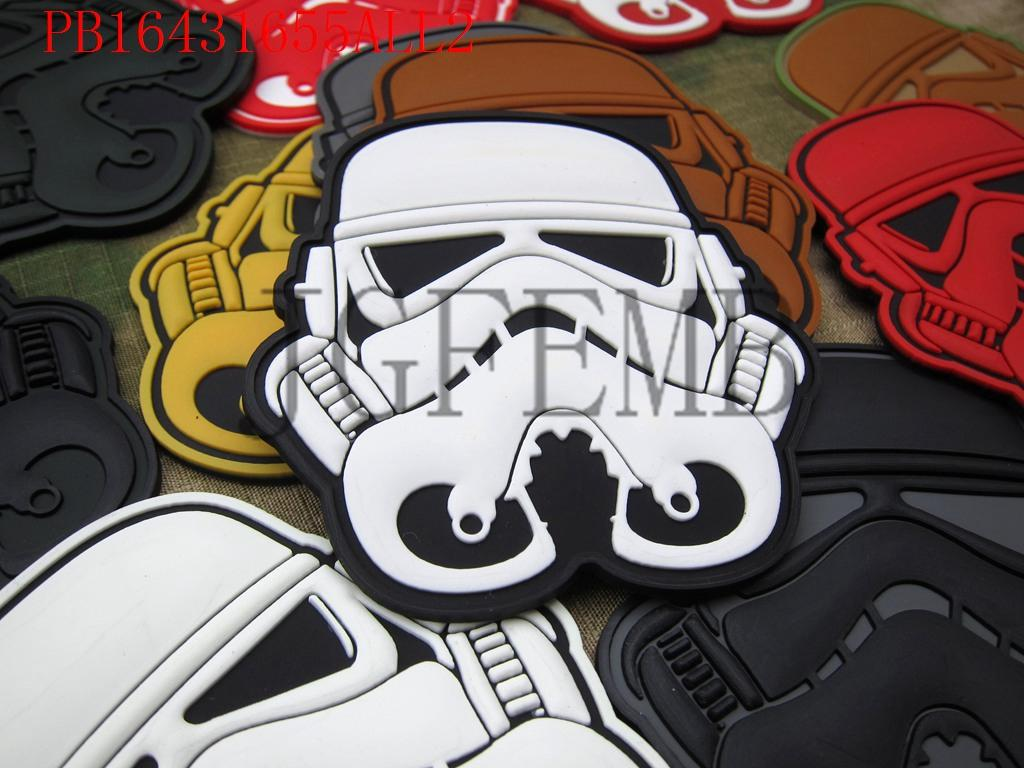 STORM TROOPER Legion Imperial Logo patch 3D - Arte, zanate dhe qepje - Foto 2