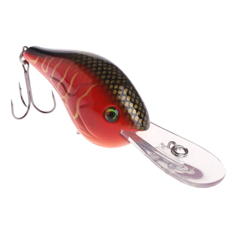 Fishing Bait Wobbler Deep Crankbait Hook Artificial Lure Carp Tackle Accessories