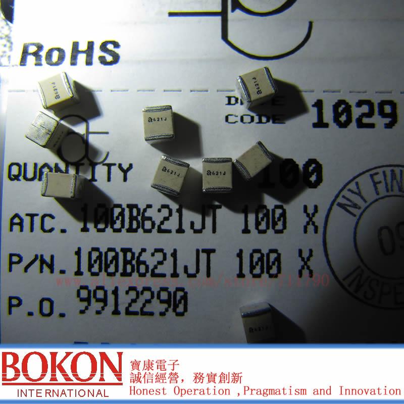 High Q Capacitors P90 ATC100B8R2JT500XT ATC100B8R2JW500XT ATC100B8R2JP500XT ATC100B8R2JT500XT  A8R2J A8R2J  8.2pF Chip Capacitor