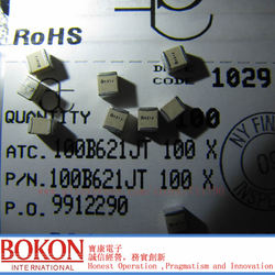 Wysokiej Q kondensatory P90 ATC100B8R2JT500XT ATC100B8R2JW500XT ATC100B8R2JP500XT ATC100B8R2JT500XT a8R2J a8R2J 8.2pF kondensator chipowy