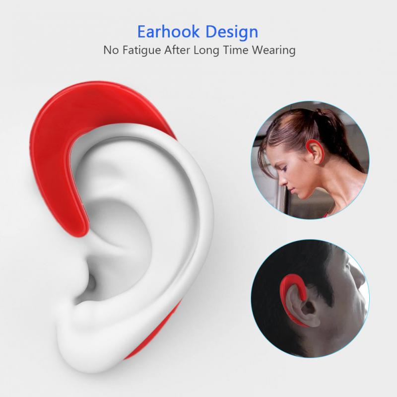 Noise Cancelling Bone Conduction Bluetooth Headphones42dB sensitivity Stereo Surrounding Sound Noise Cancelling  for iPad phones