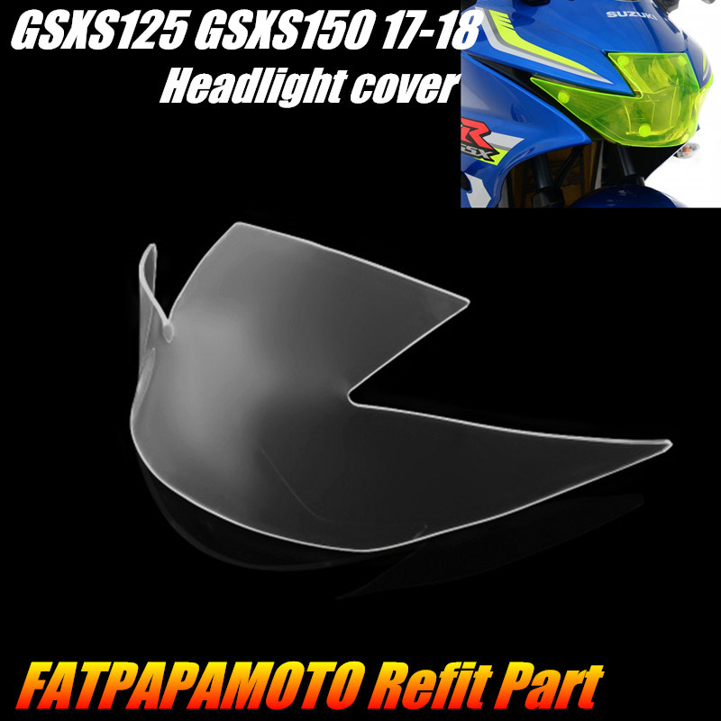 FOR <font><b>SUZUKI</b></font> <font><b>GSXS125</b></font> GSXS150 GSXS 125 150 2017 2018 Motorcycle Accessories Headlight Protection Guard Cover image
