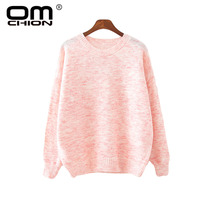 OMCHION Sueter Mujer 2017 New Autumn Sweater Women Preppy College Pullover For Girl Long Sleeve Mix