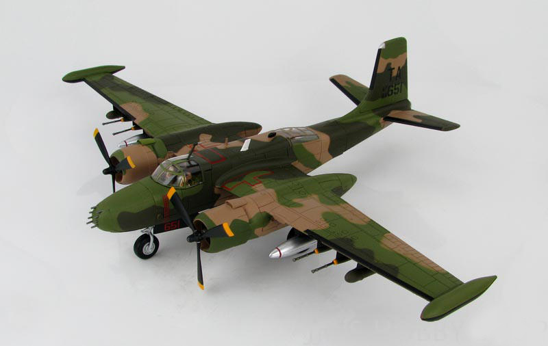 HM 1/72 B-26K bomber fifty-ninth special combat wing HA3224 Alloy collection model Holiday gift fifty shades darker