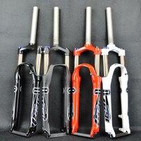 PASAK bicycle fork 26inch mountain bikes fork 26 Suspension Bike Bicycle MTB Fork Manual Contorl Alloy Disc Brake