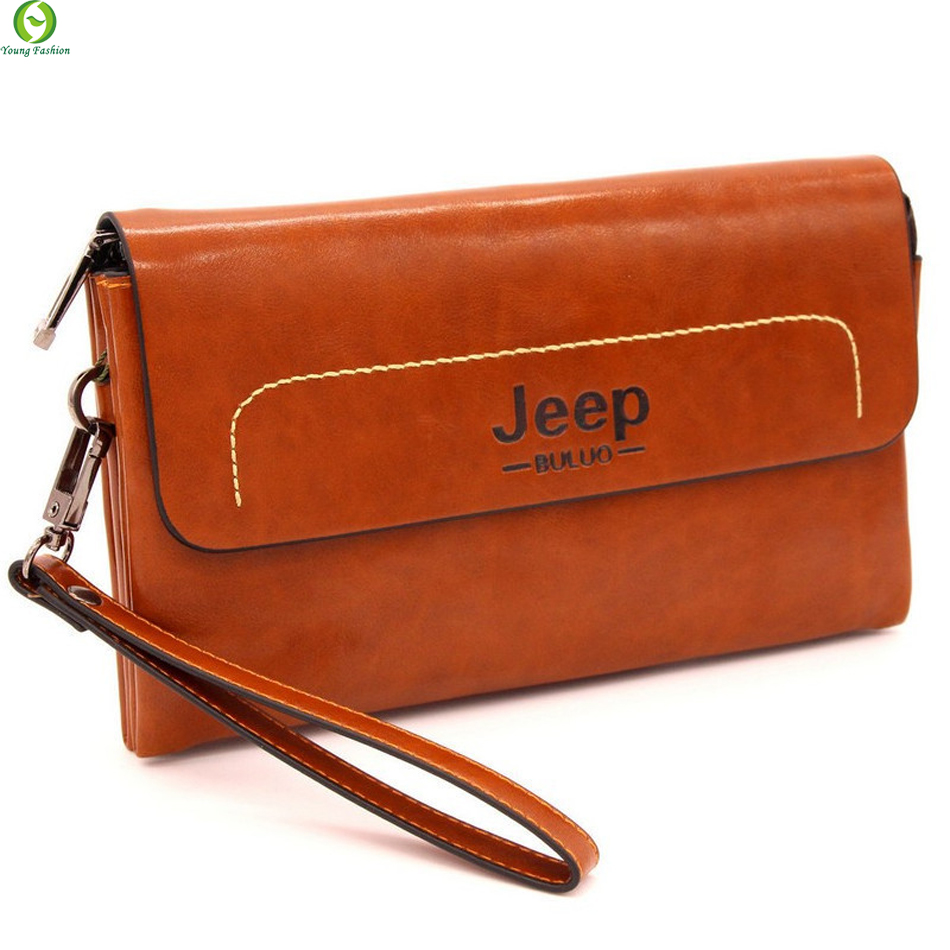 Unique Design Famous Brand Genuine Leather High Quality Business Casual Men s Clutch Bags Cowhide Handbags