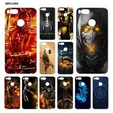 BiNFUL Scorpion in Mortal Kombat Clear Cover Case Coque for Xiaomi Redmi Mi A1 5X Note 2 3 4X 4 5 4A 5A Plus(China)