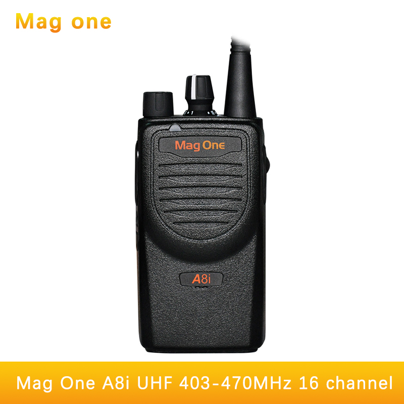 Mag One A8I font b walkie b font font b talkie b font UHF 403 470mhz