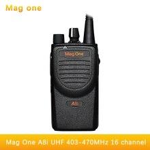 Mag One A8I walkie talkie UHF 403 470mhz Handheld Transceiver Digital Walkie Talkie Two way radio