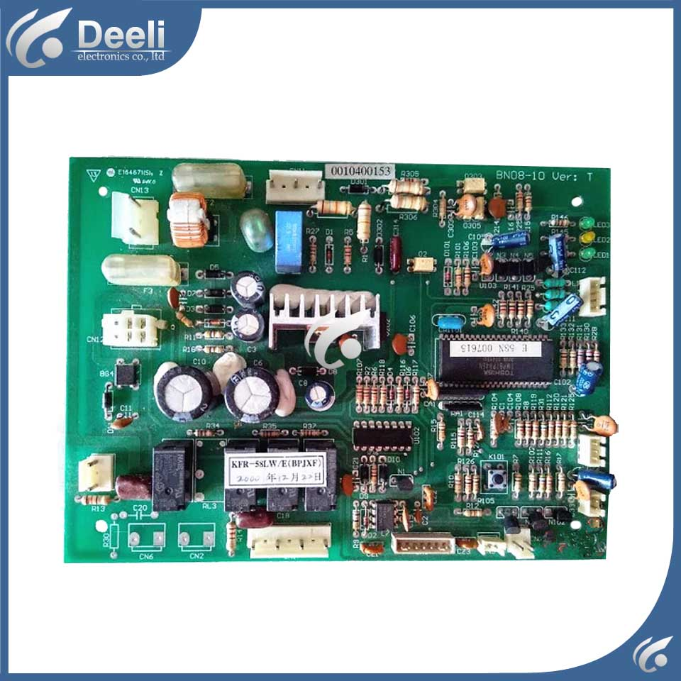 100% tested for air conditioning motherboard board computer board KFR-52L/EBPJXF 0010400153 circuit board 95% new 17c47089xa rev 3 air conditioning board tested