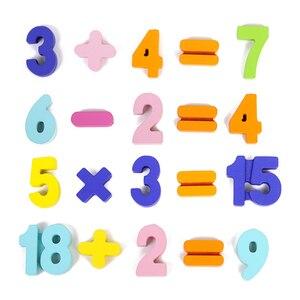 Image 3 - ABC פאזל דיגיטלי צעצועי עץ למידה מוקדמת פאזל מכתב אלפבית מספר פאזל בגיל הרך חינוך תינוק צעצועים לילדים