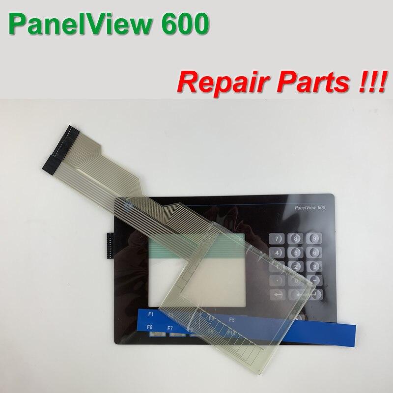 Allen Bradley Panelview 600 2711-B6C1 Teclado de Membrana Para Panelview  600 Reparação, TRANSPORTE Rápido