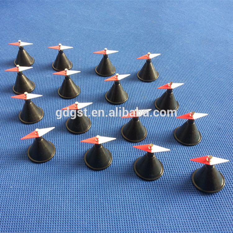 16 Pieces Physical Instrument Small Magnetic Needle,Diamond-shaped Magnetic Needle