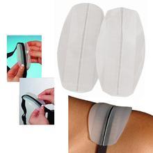 2 X силиконовые прозрачные подплечники для бюстгальтера, Нескользящие подплечники, удобные, новые