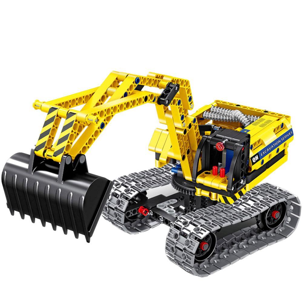 2 in 1 Engineering Truck Assembling Building Block