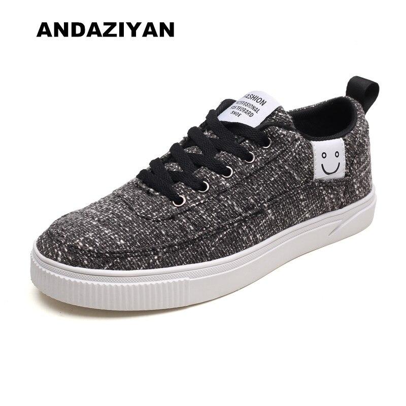 ANDAZIYAN décontracté chaussures de toile chaussures pour hommes
