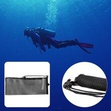Быстрая Сушка Дайвинг Плавание сетчатый мешок для хранения Подводное Экипировка для подводного плавания Очки Сумки из натуральной кожи#35/18 Вт