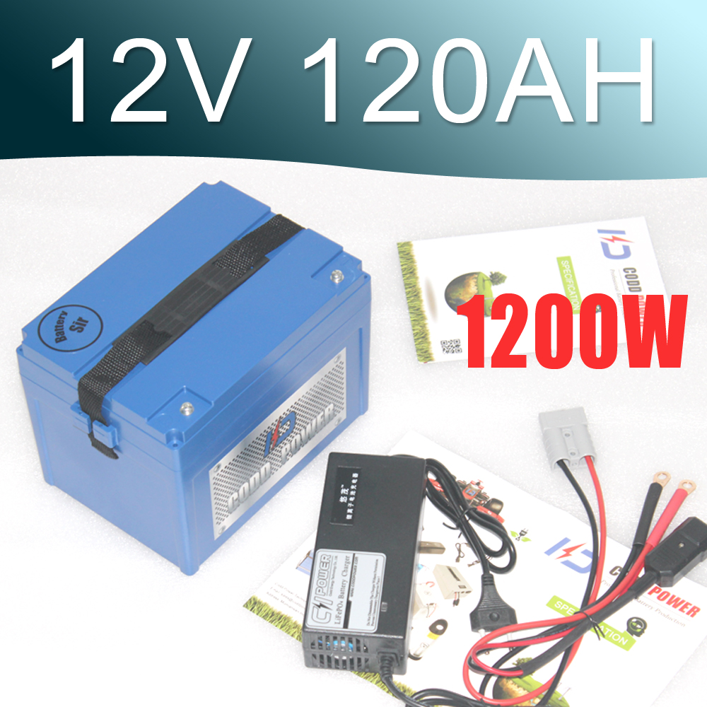 12V lithium ion battery pack 120AH large capacity Super 12v Lipo battery 12 6v8a 12 6v 8a intelligence lithium li ion battery charger for 3series 12v lithium polymer battery pack good quality