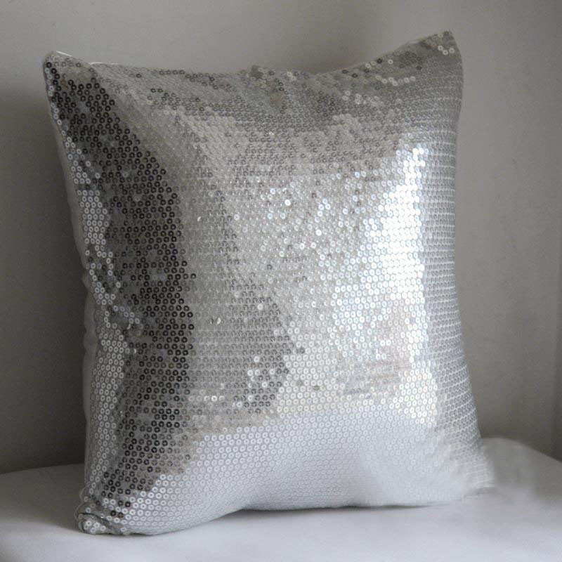 Big Size Sofa Cushion Studio Gardens Cape Town #799 New Arrived Whole Sequin Silver Cover Bedding ...