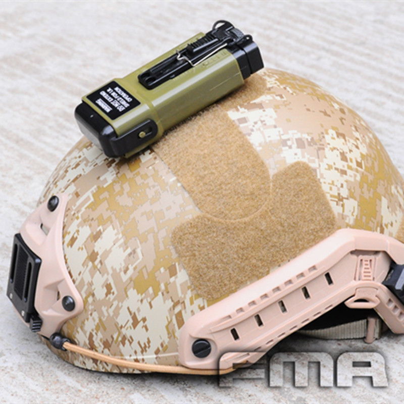 TB-FMA Outdoor Survival Flash Light MS2000 Functional Distress Marker Tb702 for Airoft Tactical Helmet with Free Shipping fma hunting survival hel star6 gen iii green safety flash light bk de tb1286