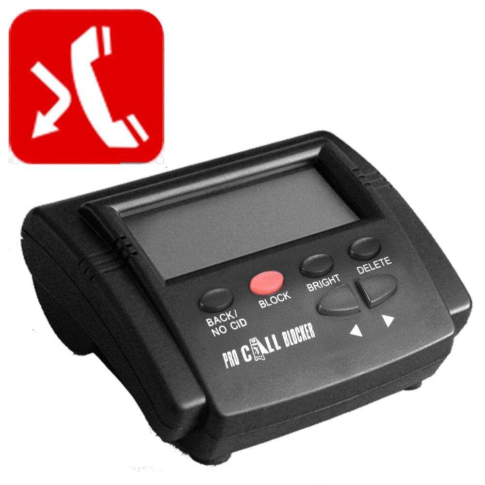 CT-CID803 identification de l'appelant bloqueur d'appel arrêter les appels nuisibles appareils appel ID arrêter tous les appels pour les téléphones fixes téléphone fixe