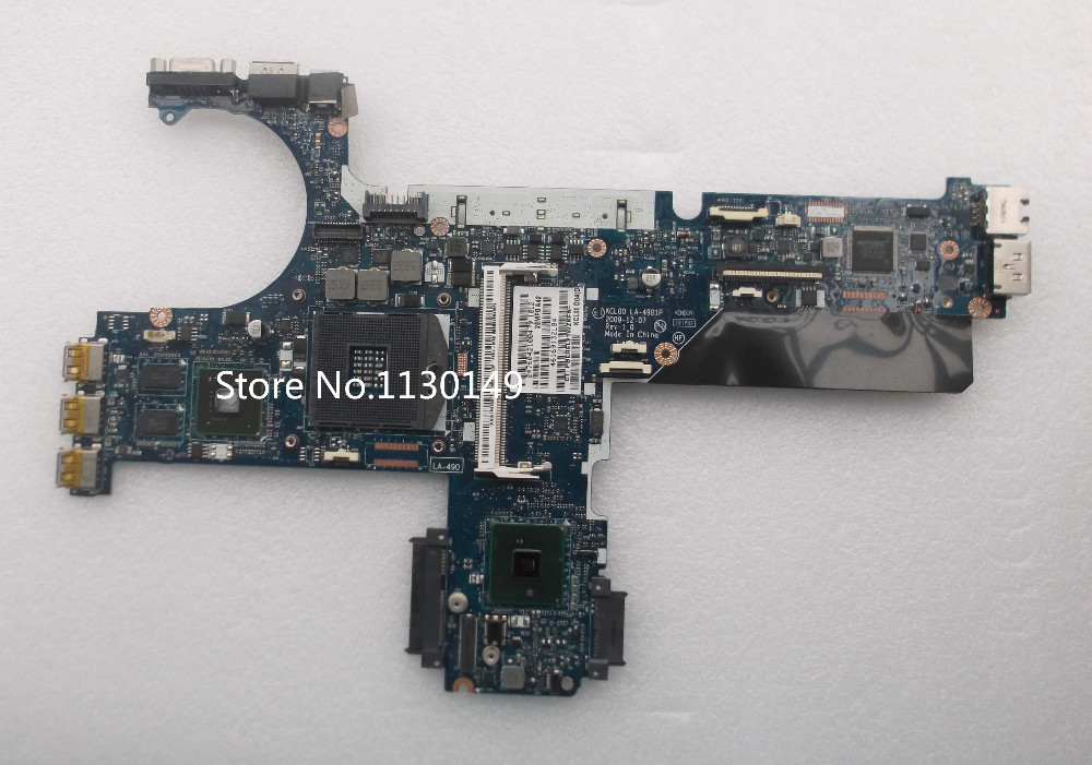 Free Shipping FOR HP EliteBook 8440P Intel Motherboard SPS: 594026-001 KCL00 LA-4901P Nvidia Graphics No CPU/RAM System Board
