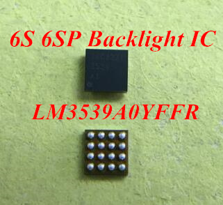 50pcs 100pcs LM3539A0YFFR 3539 For iPhone 6S 6splus backlight back light IC chip logic board fix part50pcs 100pcs LM3539A0YFFR 3539 For iPhone 6S 6splus backlight back light IC chip logic board fix part