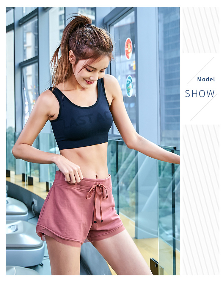 2019 new sexy breathable comfortable running training women 39 s shorts morning running exercise casual sports shorts in Yoga Shorts from Sports amp Entertainment