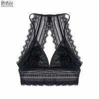 JYF Luxus sexy open ultradünne bh draht-unterwäsche atmungs spitzen-bh sexy back design lingerie cozy bh für frauen