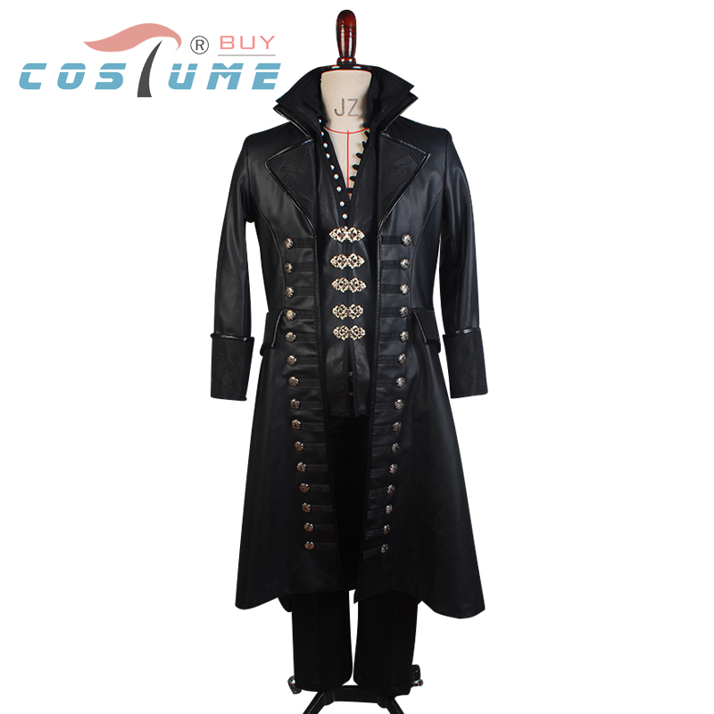 Once Upon A Time Costumes: Once Upon A Time Captain Hook Cosplay Costume Halloween