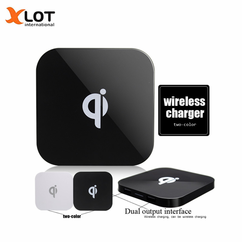 iphone 6 wireless charging aliexpress buy dual usb q8 charger qi wireless 1596