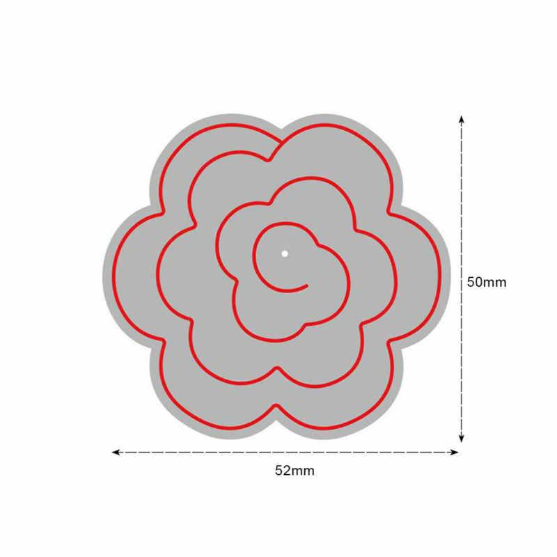 Карточка для изготовления цветов Металлические Вырубные штампы для скрапбукинга Новинка 2019 Пасхальный бумажный трафарет фотоальбом тиснение штампы ремесло Вырубка