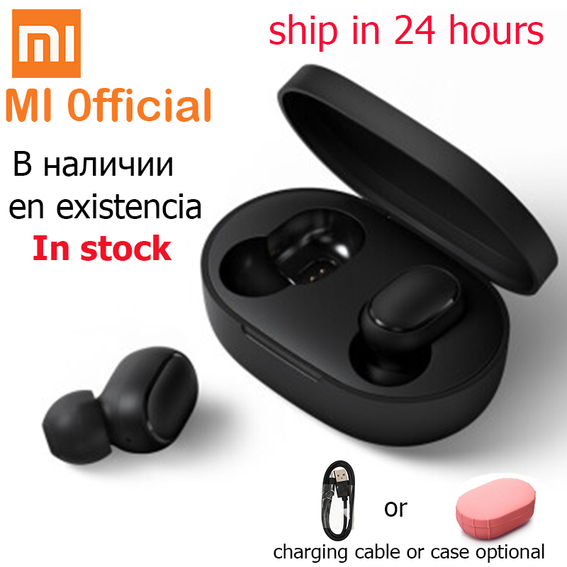 Xiaomi Redmi Airdots True Wireless Bluetooth Earphones  TWS 5.0 Original Xiaomi Air Airdots Pro Headset DSP With Mic(China)