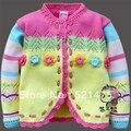 Цветок Fengy unbobi дети шерстяной свитер для девочка толстый стиль осень и весна
