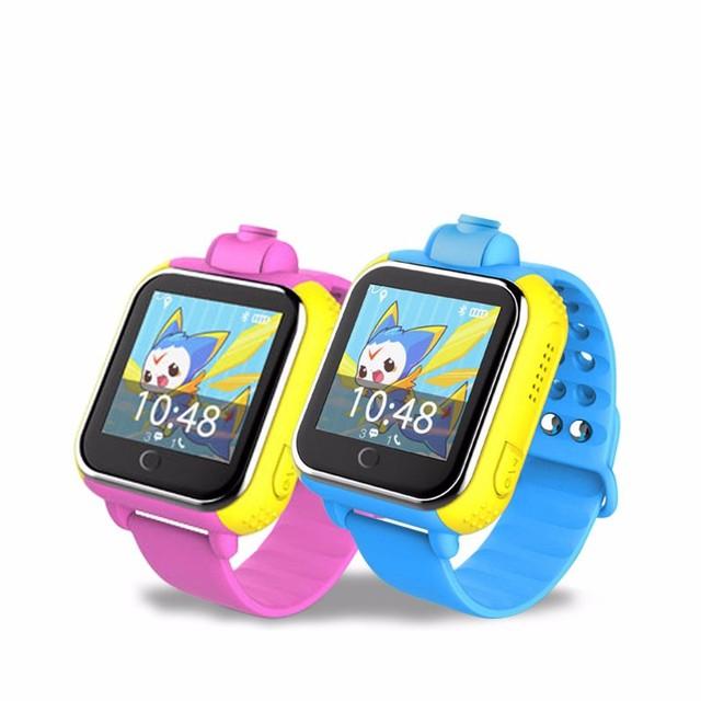 Crianças kid jm08 3g smart watch relógio de pulso com câmera gsm gprs gps localizador rastreador anti-perdida smartwatch para guarda ios android