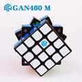 GAN 460 M 4x4x4 Cubo mágico magnético rompecabezas profesional Gan 460 M imanes velocidades Cubo Magico juguetes de cubo Gan sin adhesivo para niños