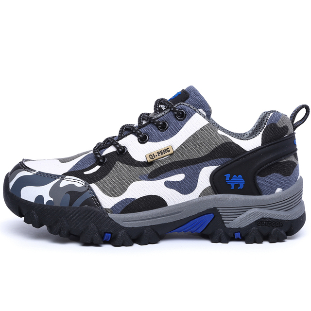 reputable site 625bb 1e2cf Men and women hiking shoes cross-country mountaineering adventure riding  hunting youth breathable color couple shoes