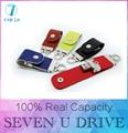 USB flash drive PenDrive de Couro & metal chaveiro & pen drive 128 GB usb 2.0 flash drive 512 GB 64 gb de Memória Disco U & u vara