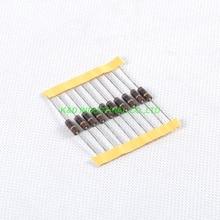 10pcs Carbon Composition vintage Resistor 0.5W 10R ohm 10pcs carbon composition vintage resistor 0 5w 2 2m ohm 5