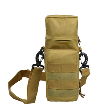 KyleBooker  Outdoors Waist  Water Bottle Bag Tactical Gear Pouch Hunting Climbing fishing Kettle Bags