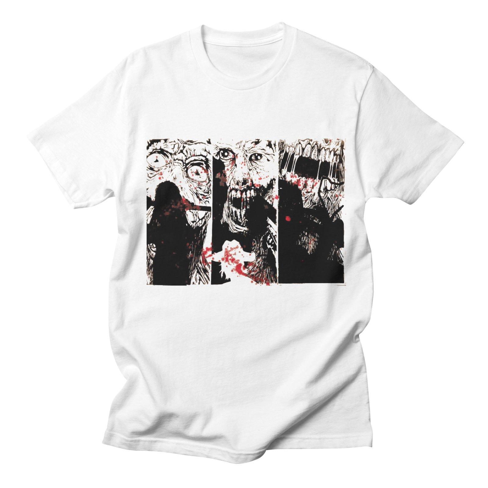 The Walking Dead Футболка Для мужчин хлопок короткий рукав Повседневное свободные уличная Harajuku удобные Homme Лето футболка Для мужчин хип-хоп