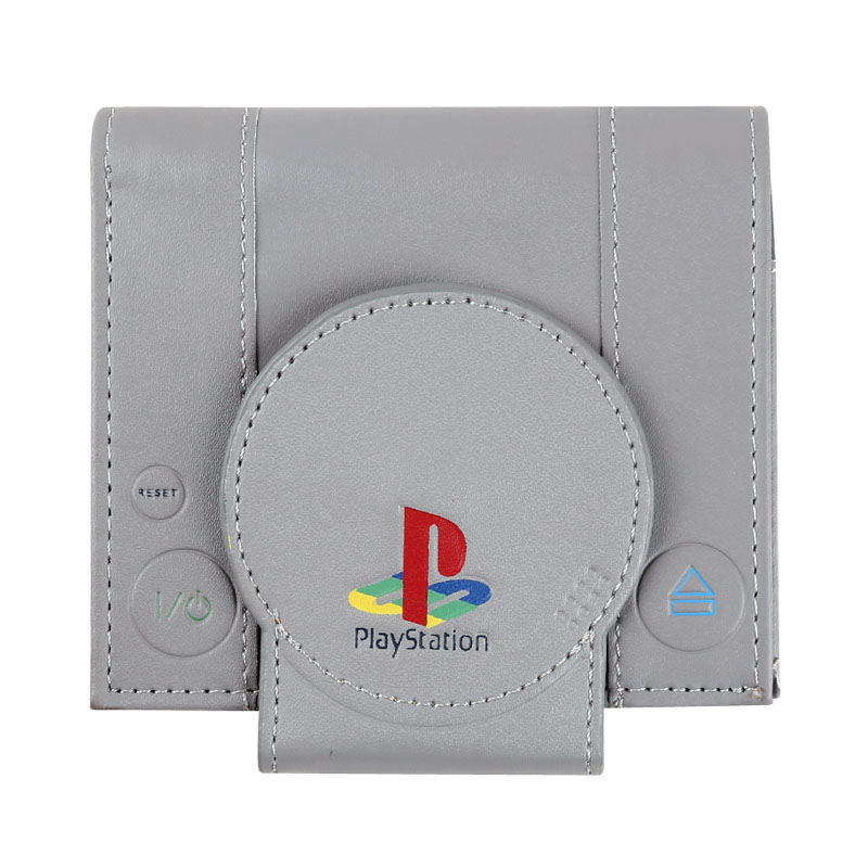 Purse CONSOLE Playstation-Wallet Men Wallets Cool GAMING Bi-Fold Retro And Super