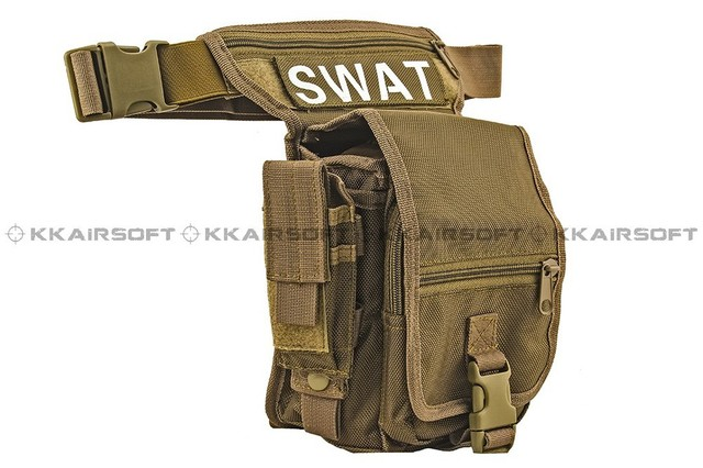 molle military tactical backpack US Tactical Utility Waist Bag (Sand)