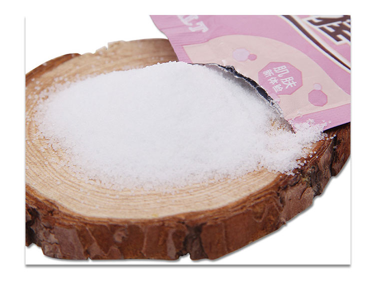 30g/bag Sea Salt Bath Salt Skin Care Relax Spa Shower Acne Shrink Pores Deep Clean Whitening