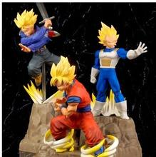Perfeição Absoluta Original BANPRESTO Dragon Ball Z Figura Brinquedo Modelo Brinquedos DBZ son goku SSJ Goku Vegeta trunks(China)