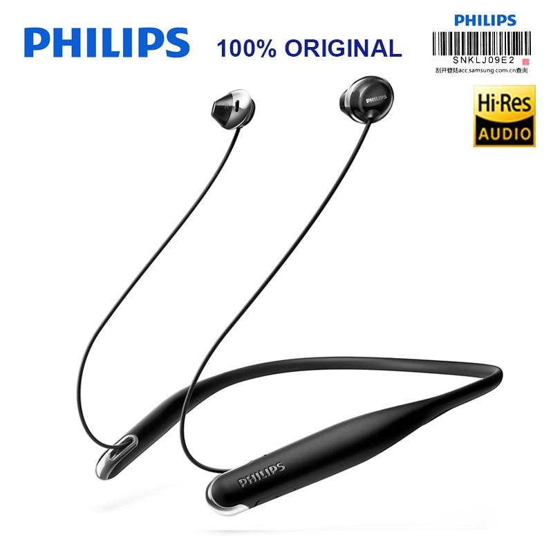 Philips SHB4205 Sans Fil Casque/Bluetooth Écouteurs/Casques Tour de Cou Au Lithium polymère pour Xiaomi S8 Hua Wei Avec Cadeau Gratuit