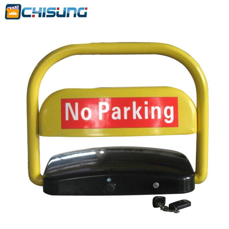 Remote Control Solar Power Parking lock/solar energy parking barrier half ring shape of the block machine parking barrier lock