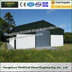Сборный дом из стальной конструкции для размещения или хранения